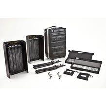Kino Flo Diva-Lite 401 Two Light Kit with Flight Case - 120 VAC
