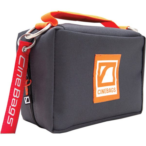 CineBags CB92 Monitor Pack - Charcoal with Orange Webbing