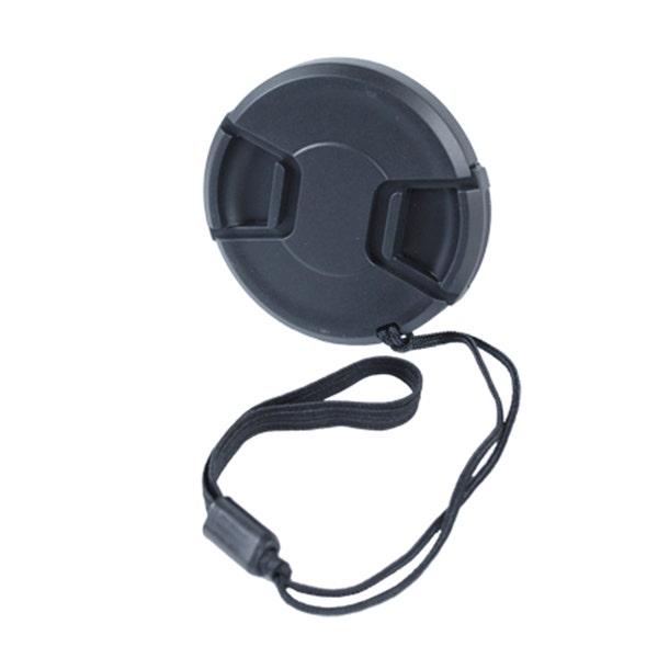 GTX Zuma 58mm Snap-On Lens Cap with Leash