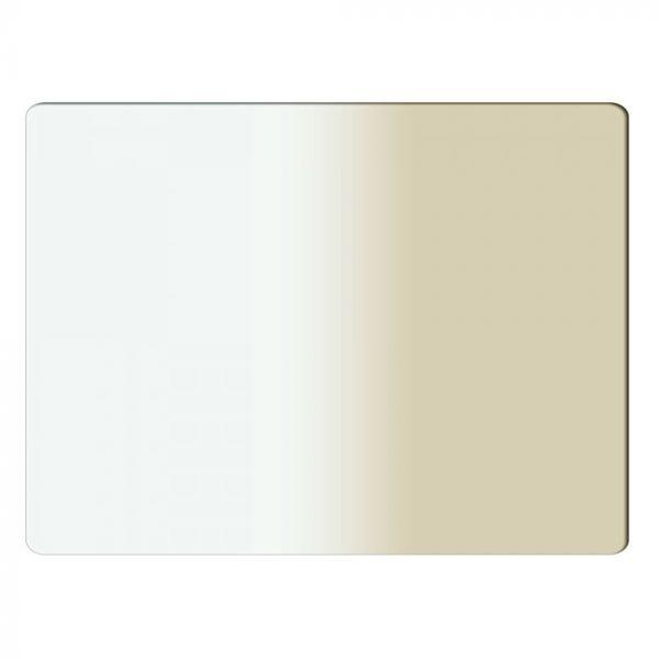 "Schneider Optics 4 x 5.65"" Graduated Antique Suede 1 Water White Glass Filter - Soft Edge with Vertical Orientation"