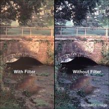 "Tiffen 4 x 5.65"" Warm Pro-Mist 1 Filter"