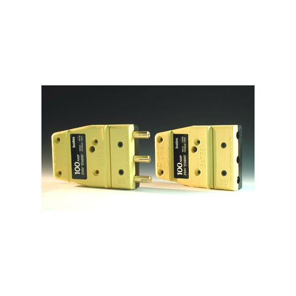 Stage Pin Plug 100 Amp (250V)