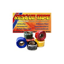 """Rescue Tape 1"""" Self Fusing Silicone Waterproof Tape - Red"""