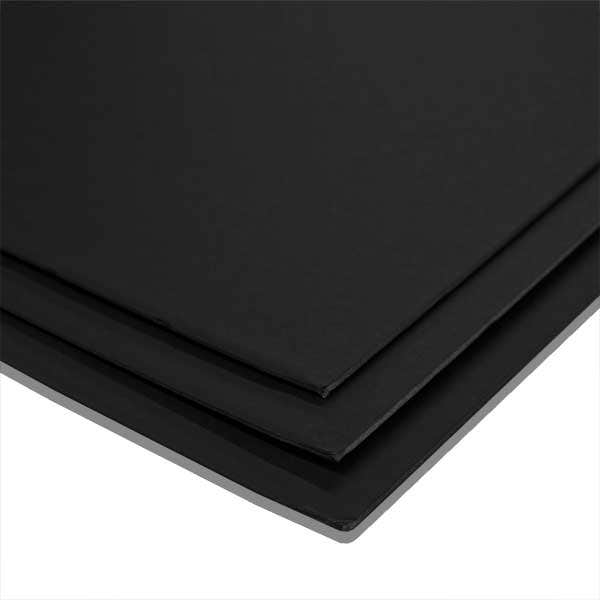 "Foam Core 3/16"" Black/Black - 40 x 60"" - 25 Sheets"