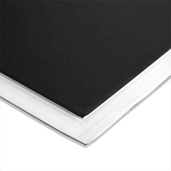 "Foam Core 3/16"" - White/Matte Black - 48 x 96"" - 25 Sheets"