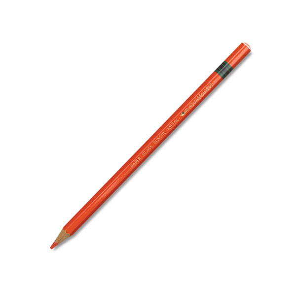 Stabilo Pencil Crayon (Grease Pencil) - Orange