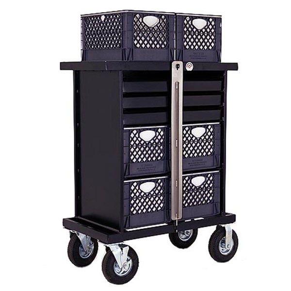 Backstage 4 Crate Vertical Set Box Studio / Stage Cart