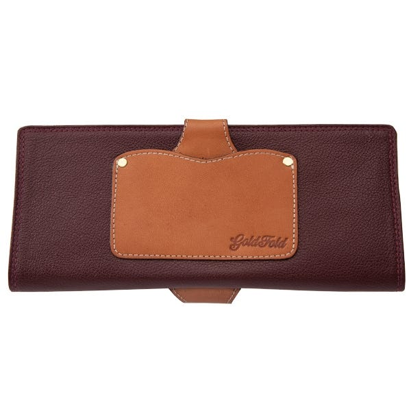 GoldFold Leather Call Sheet & Shooting Schedule Wallet - Spartan Oak