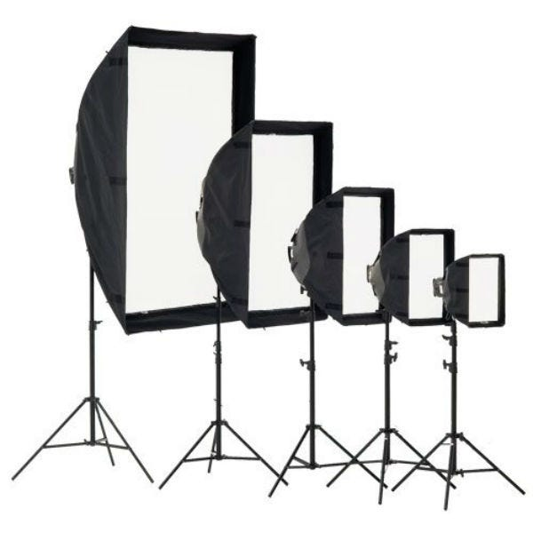 Chimera Video Pro Plus Lightbank with 3 screens, Small 8125