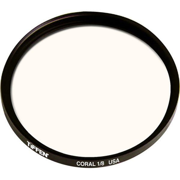 Tiffen 138mm Coral Solid Color 1/8 Filter