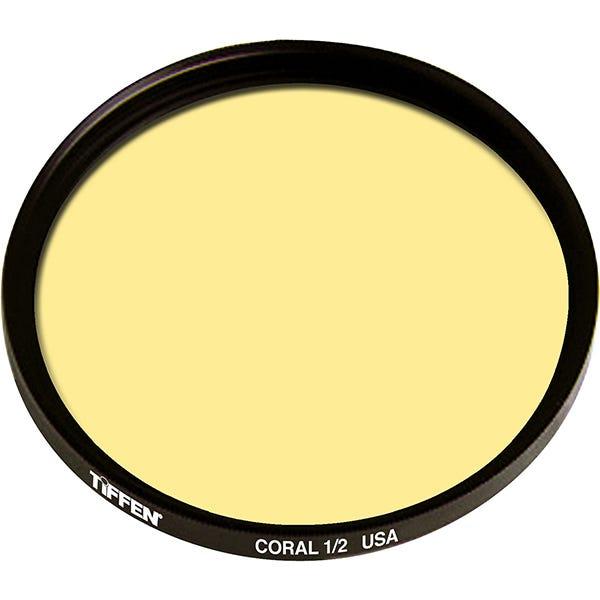 Tiffen 138mm Coral Solid Color 1/2 Filter