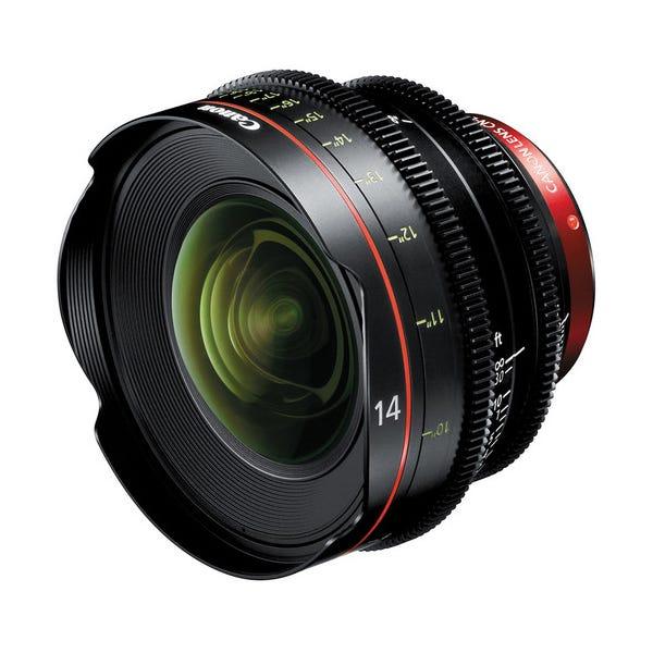 Canon CN-E 14mm T3.1 L F Cinema Prime Lens