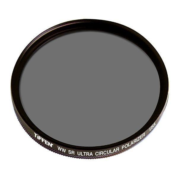 """Tiffen 4.5"""" Round Water White Ultra Circular Polarizer Filter"""