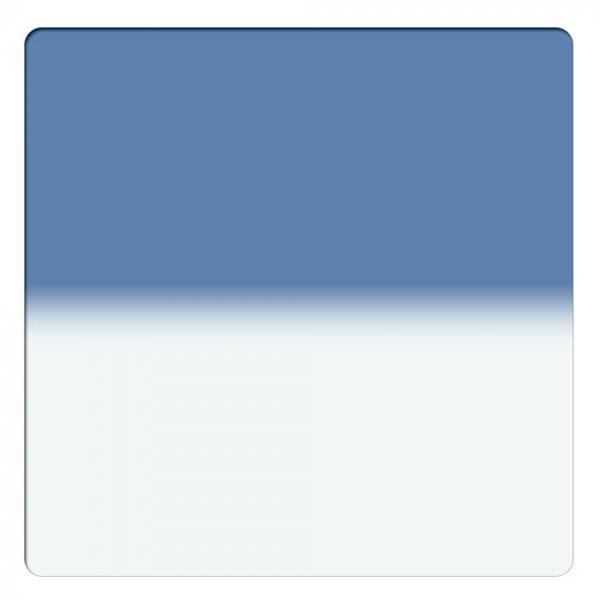 "Schneider Optics 6.6 x 6.6"" Graduated Paradise Blue 1 Water White Glass Filter - Hard Edge"