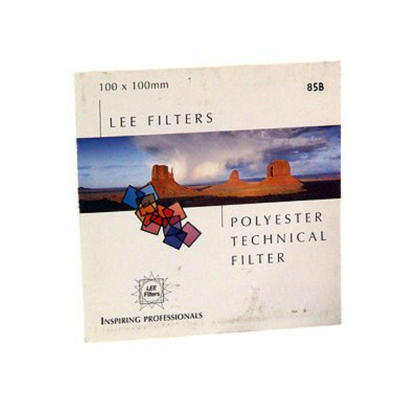 "LEE Filters 3 x 3"" 85B Color Conversion Polyester Filter"