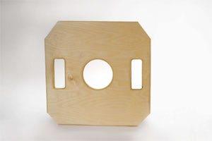 Expression in Wood 259571 Hi-Hat Board