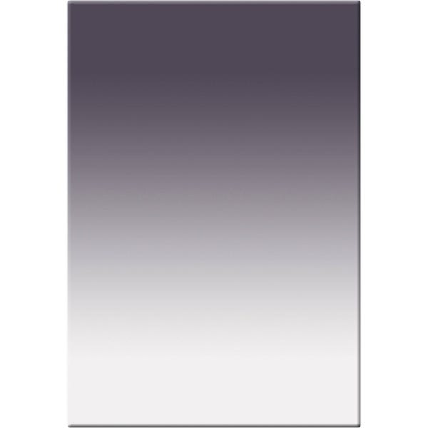"Tiffen 4 x 5.65"" Soft Edge Graduated Neutral Density (ND) 0.6 Filter - Vertical Orientation"