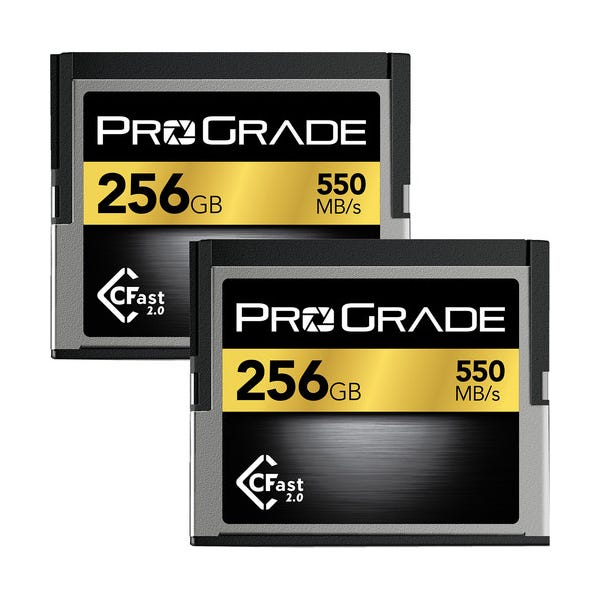 ProGrade Digital 256GB CFast 2.0 Memory Card (2-Pack)