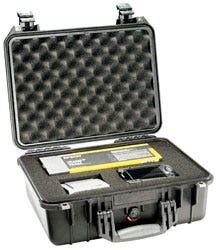 Pelican 1450 Case with Dividers - Black