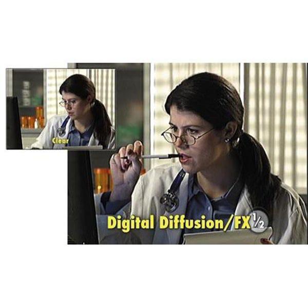 "Tiffen 6.6 x 6.6"" Digital Diffusion/FX 1/2 Filter"