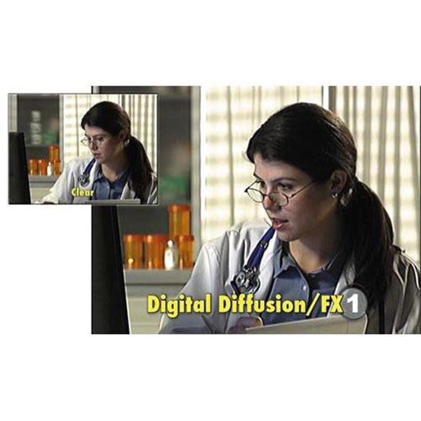 "Tiffen 6.6 x 6.6"" Digital Diffusion/FX 1 Filter"