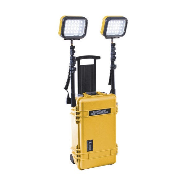 Pelican Remote Area Lighting System Double RALS 9460 - Yellow