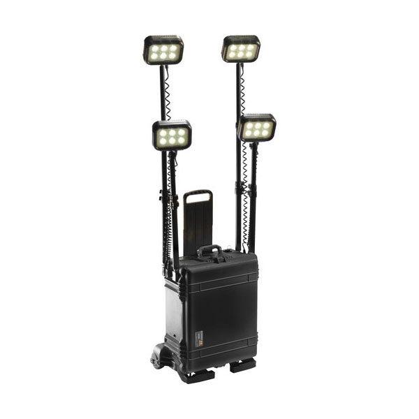 Pelican Remote Area Lighting System Quad RALS 9470 - Black