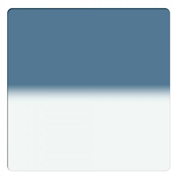 "Schneider Optics 6.6 x 6.6"" Graduated Storm Blue 3 Water White Glass Filter - Hard Edge"
