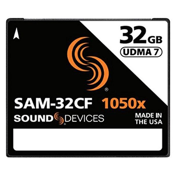 Sound Devices SAM-32CF 32GB Compact Flash Card