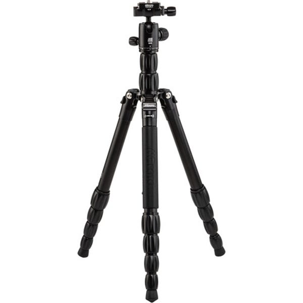 MeFoto BackPacker S Aluminum Travel Tripod - Black