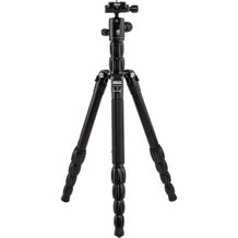 MeFoto BackPacker S Carbon Fiber Travel Tripod - Black