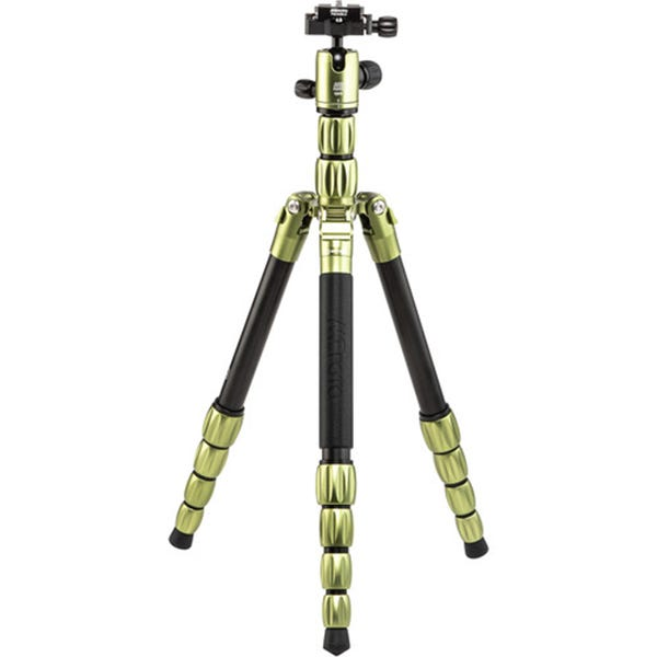 MeFoto BackPacker S Aluminum Travel Tripod - Green