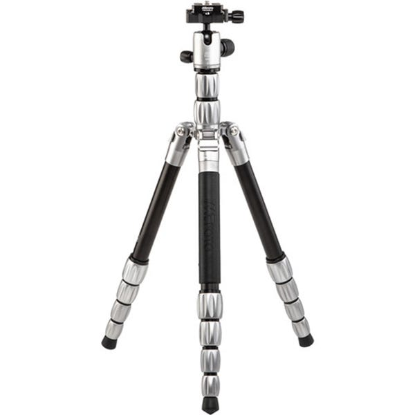 MeFoto BackPacker S Aluminum Travel Tripod - Titanium