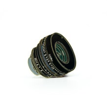 Film Pin Society 35mm f/1.5 Lens Enamel Pin