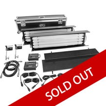 Kino Flo FreeStyle T44 Gaffer DMX 2-Light Kit with Shipping Case