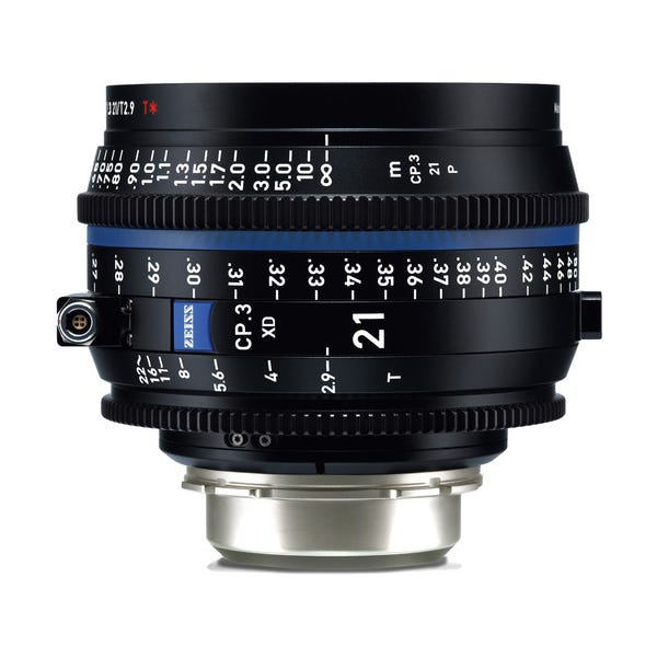 Zeiss CP.3 XD 21mm T2.9 Compact Prime Lens - PL Mount