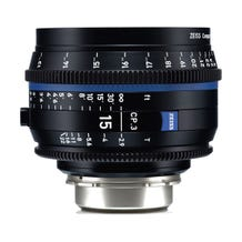 Zeiss CP.3 15mm T2.9 Compact Prime Lens - E Mount