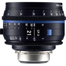 Zeiss CP.3 21mm T2.9 Compact Prime Lens - PL Mount