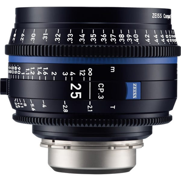 Zeiss CP.3 25mm T2.1 Compact Prime Lens - E Mount