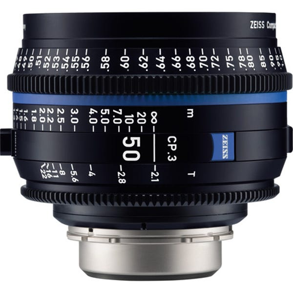 Zeiss CP.3 50mm T2.1 Compact Prime Lens - EF Mount