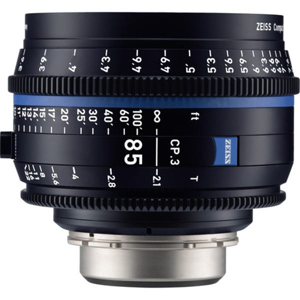Zeiss CP.3 85mm T2.1 Compact Prime Lens - EF Mount