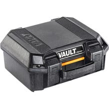 Pelican V100 Vault Case w/ Foam - Black