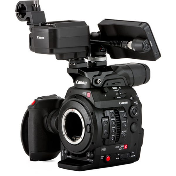 Canon Cinema EOS C300 Mark II Camcorder Body w/ Touch Focus Kit - EF Mount