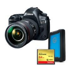 Canon 5D Mark IV w/EF 24–105 IS II USM Filmmaker Bundle