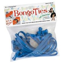 BongoTies Cable Ties - Blue, 10 Pack