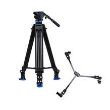 Benro S7 Dual Stage Video Tripod Kit with DL08 Video Dolly