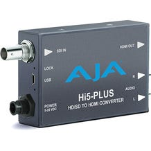 AJA 3G-SDI to HDMI Mini Converter With 1 Meter HDMI Cable HI5-PLUS-R0