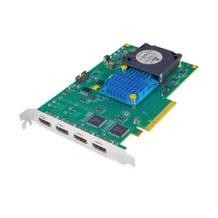 AJA KONA-HDMI 4R-R0 4-Channel HDMI Capture 1x 4K/UltraHD or 4x 2K/HD PCIe 2.0 card