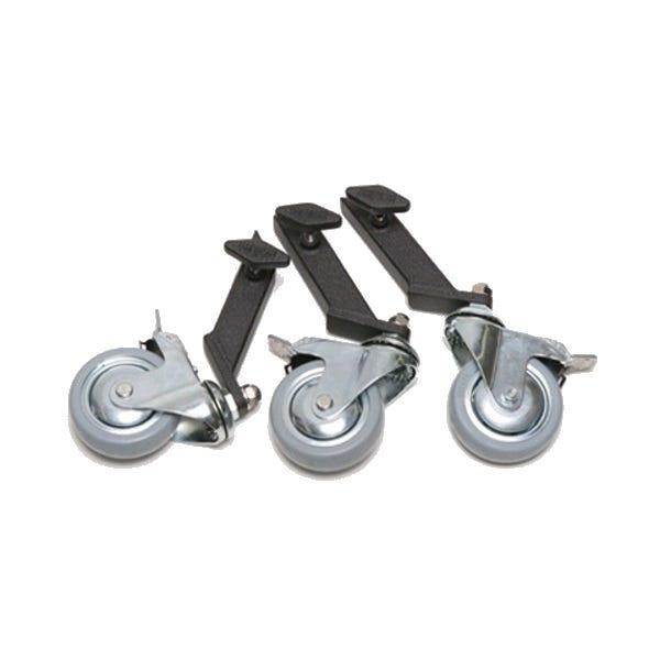 "Filmtools American Grip 1"" Leg Adaptor Wheels Black (Set of 3)"