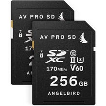Angelbird Match Pack for Fujifilm X-T3 256 GB (2x SDXC Memory Cards)
